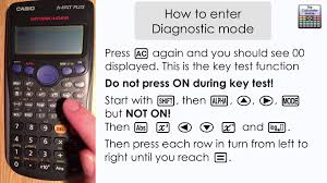 how to enter diagnostic mode hidden feature on casio calculator how to enter diagnostic mode hidden feature on casio calculator fx 83g