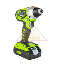 <b>Шуруповерт</b> ударный <b>аккумуляторный GreenWorks</b> G24 <b>24V</b> (арт ...