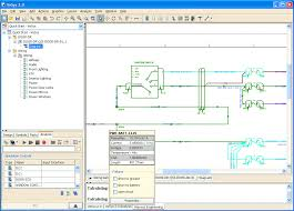 free electrical wiring diagram software   electrical design softwaremoresave image  technical drawing software  technical drawing software electrical circuit diagram