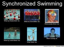 Synchronized Swimming... - Meme Generator What i do   Chlorine is ... via Relatably.com