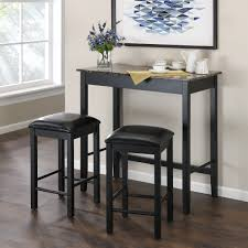 three piece dining set: dorel living devyn  piece dining set