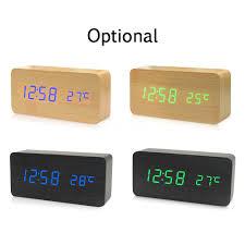<b>3D LED Digital</b> Clock with Night Mode Adjust the Brightness ...