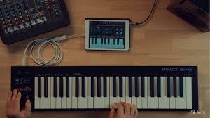 <b>Midi</b>-<b>клавиатура Nektar Impact</b> GX49 USB, новая купить в Москве ...