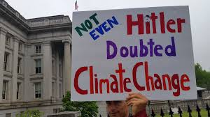 craziest activist photos from the forscience science dc godwin s law was proven early and this sign pretty well sums up the insanity