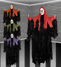 46 Inch <b>Halloween</b> Hooded Gothic <b>Ghost Skeleton Hanging</b> Party ...