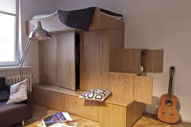 Space Saving Furniture Design Bed And Storage Cabinet