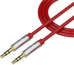 <b>Кабель Vention</b> аудио Jack 3,5 mm M/Jack 3,5 mm M - 1м Красный ...