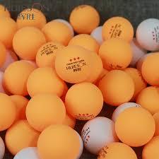 Huieson <b>50Pcs</b>/Pack 3 Star New Material <b>Table Tennis Balls</b> 40+ ...