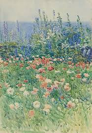 Гассам, Чайльд Фредерик - <b>Flower Garden</b>, Isles of Shoals, 1893 ...
