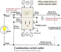 leviton plug wiring diagram wiring diagram schematics how to wire combination switch outlet