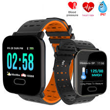 <b>X6</b> Smart Watch Color screen Heart Rate Monitor <b>Blood Pressure</b> ...