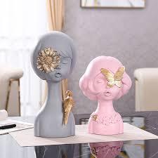 Пин на доске Гипсовые скульптуры декор ангелы дамы кашпо