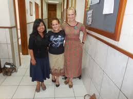a line from the equator  hermana blacutt from hermana scott from provo she lived in spain and already speaks spanish perfectly jealous hermana fajardo from