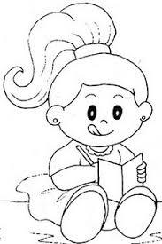 Resultado de imagem para menina escrevendo pc desenho