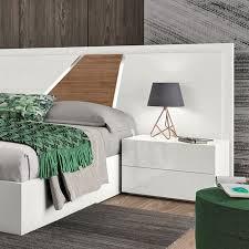 <b>Bedside table</b>, Wood veneer, Luxury furniture