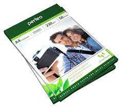 Купить <b>фотобумага</b> для принтера <b>Perfeo PF</b>-GLA6-230/500 ...