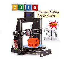 <b>2020 CTC 3D printer</b> Prusa i3 Reprap MK8 DIY kit MK2A hot bed ...