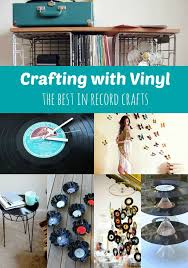 goodwill tips crafting with vinyl the best in record crafts front shot finished vinyl record