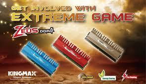 <b>Kingmax</b> выпустила новые <b>модули памяти Zeus</b> DDR4 для ...