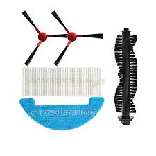 Robot HEPA <b>Filter</b> Main Roller <b>Side Brush</b> Mop Cloth for <b>360</b> C50 ...