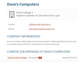 introducing the job board  job board profile page