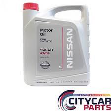 <b>Масло моторное NISSAN</b> 5W40 синтетика A3/B4 5L - СИТИКАР