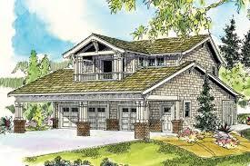 Bungalow House Plans   Garage w Apartment     Associated DesignsGarage Plan     Front Elevation
