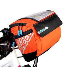 <b>ROSWHEEL Mountain Bike Bag</b> Bicycle Handlebar Bag Cycling ...