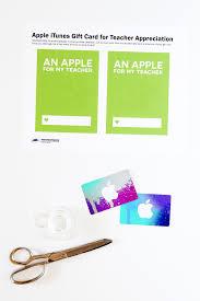 teacher appreciation itunes gift card printable template apple gift card template for teacher appreciation