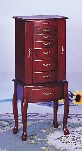 amazoncom coaster traditional jewelry armoire oak kitchen dining amazoncom antique jewelry armoire