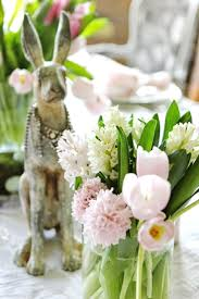 holiday home decor top  spring flower easter table centerpieces april