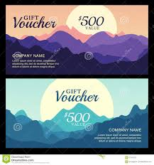 rock climbing flyer template stock vector image  vector gift voucher mountain landscape view royalty stock photography