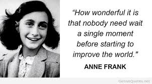 AnNe FraNk~.•° on Pinterest | Anne Frank, Anne Frank Quotes and ...