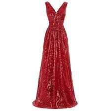 <b>Red Sequin Party Dress</b>: Amazon.com