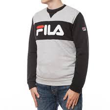 Одежда :: <b>Толстовки</b> :: <b>Толстовка Fila</b> Logo Sweatshirt Grey
