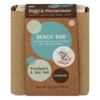 Biggs & Featherbelle Beach Bar <b>Soap Eucalyptus</b> & Sea Salt (<b>3.5 oz</b> ...