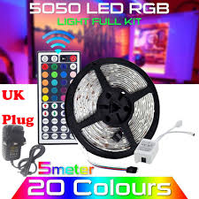 <b>10M RGB</b> 5050 <b>Waterproof</b> 300 LED Strip Light SMD+44 Key ...