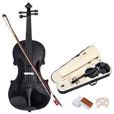 <b>NAOMI</b> VIOLIN 1/8 ACOUSTIC Violin + CASE + BOW + ROSIN ...