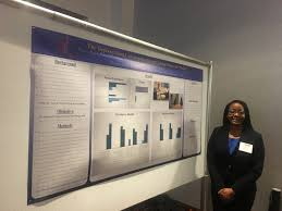 college of pharmacy university of illinois at chicago pharmd candidate patrice davis presents poster on the deprescribing conversation project giving nurses the words at ichp