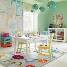 awesome kids play room design ideas with table and chair also toys hanging accessors awesome kids boy bedroom furniture ideas