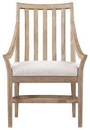coastal living resort by the bay dining chair weathered pier finish beach style beachy style furniture