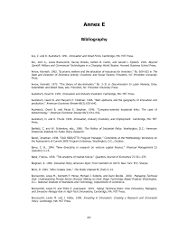 annex e bibliography an assessment of the small business page 49