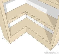 built in corner bookshelf plans building japanese furniture