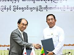 Signing of Grant Agreement with <b>Myanmar</b>: Contributing to ...