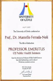 academic cv prof marcello ferrada de noli ph d living in ferrada noli academic distinction ki news