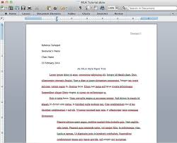 essay in mla format Free Essays and Papers