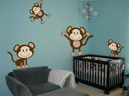 wall decor ideas decozilla baby girl nursery wall decor ideas decozilla playing monkey wall decorjpg nurser