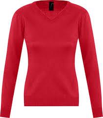 <b>Свитер женский GALAXY WOMEN</b> красный, размер XS