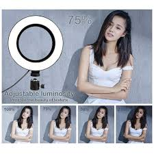 <b>Selfie</b> Ring Light Youtube Video Live <b>Photography Dimmable LED</b> ...