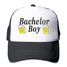 Waldeal Bachelor Boy Party Groom Hat <b>Curved Brim</b> Cap ...